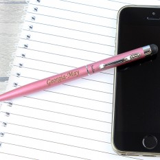 Hampers and Gifts to the UK - Send the Personalised Pink Pen Gift Set