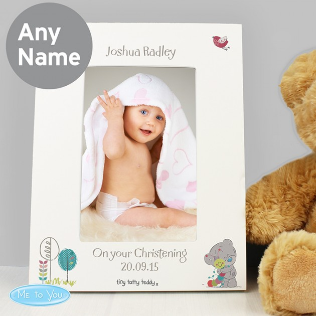 Hampers and Gifts to the UK - Send the Tiny Tatty Photo Frame