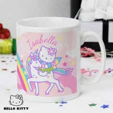 Hampers and Gifts to the UK - Send the Personalised Hello Kitty Unicorn Mug