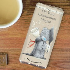 Hampers and Gifts to the UK - Send the Personalised Me to You Graduation Chocolate Bar
