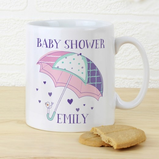 Hampers and Gifts to the UK - Send the Personalised Baby Shower Unicorn Mug