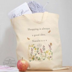 Hampers and Gifts to the UK - Send the Personalised Country Diary Tote Bag