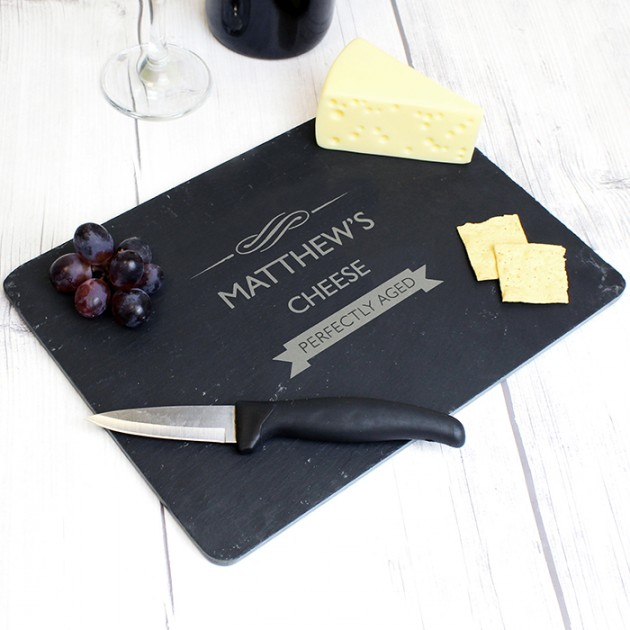 Hampers and Gifts to the UK - Send the Personalised Perfectly Aged Cheese Board