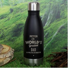 Personalised The Worlds Greatest Travel Bottle