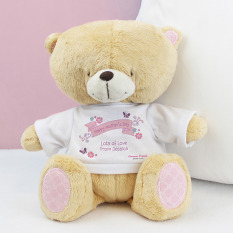 Hampers and Gifts to the UK - Send the Personalised Forever Friends Bear with T-Shirt