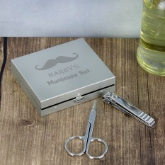 Hampers and Gifts to the UK - Send the Personalised Mens Manicure Set