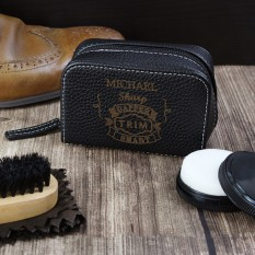 Hampers and Gifts to the UK - Send the Personalised Shoeshine Kit