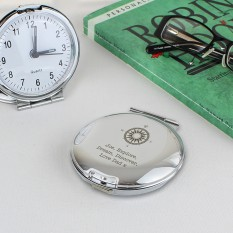 Hampers and Gifts to the UK - Send the Travel Alarm Clock - Engraved