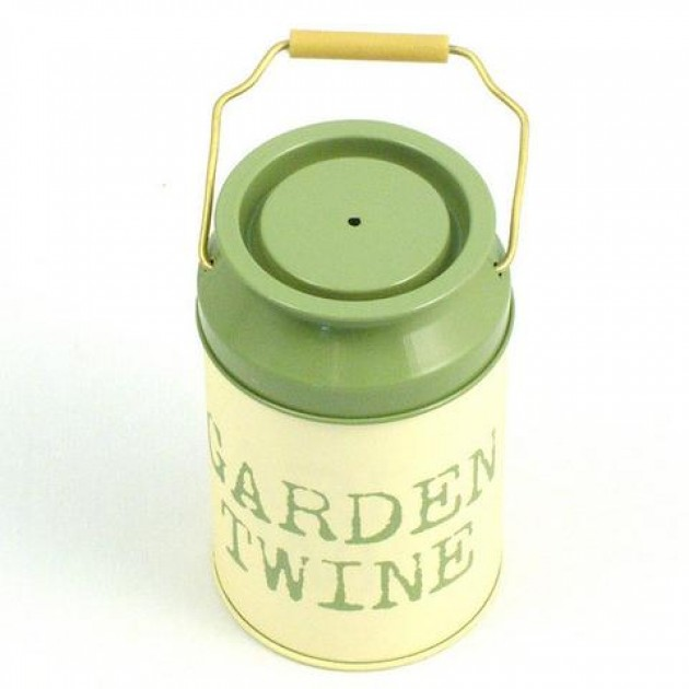 Hampers and Gifts to the UK - Send the Churn of Garden Twine Tin
