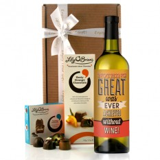 Hampers and Gifts to the UK - Send the Great Achievements Wine Gift
