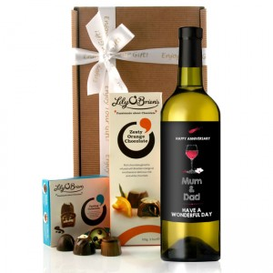 Hampers and Gifts to the UK - Send the Wine Gifts - Anniversary