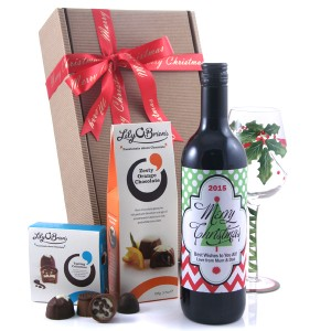 Hampers and Gifts to the UK - Send the Wine Gifts - Christmas