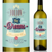 Follow Your Dreams Wine Gift