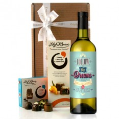 Hampers and Gifts to the UK - Send the Follow Your Dreams Wine Gift