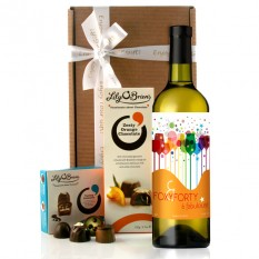 Hampers and Gifts to the UK - Send the Foxy Forty Birthday Wine Gift