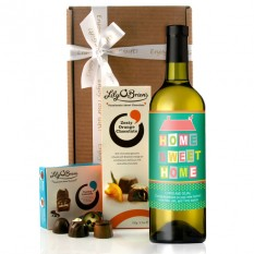 Personalised New Home Wine Gift
