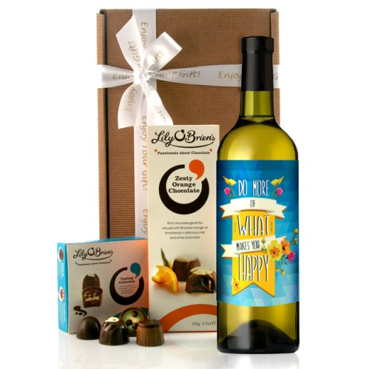 Hampers and Gifts to the UK - Send the Happiness Wine Gift