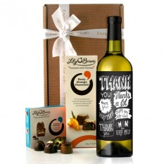 Hampers and Gifts to the UK - Send the Thank You Very Much Wine Gift