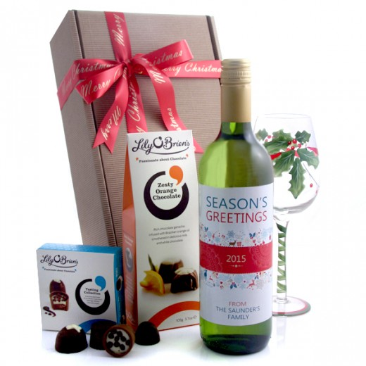 Hampers and Gifts to the UK - Send the Christmas Wine Gifts - Season's Greetings