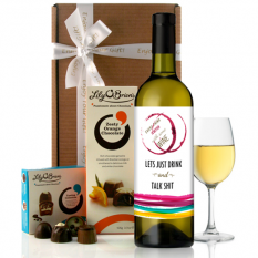 Hampers and Gifts to the UK - Send the Everything is Better With Some Wine - Wine Gift