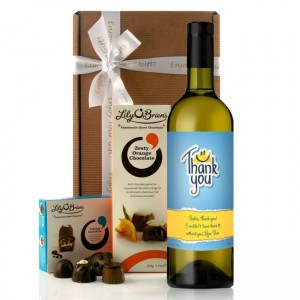 Hampers and Gifts to the UK - Send the Wine Gifts - Thank You