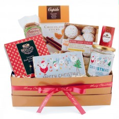 Hampers and Gifts to the UK - Send the Ho! Ho! Ho! Santa's Gift Box
