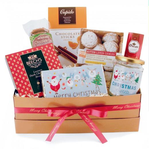 Hampers and Gifts to the UK - Send the Ho! Ho! Ho! Santa's Gift Box