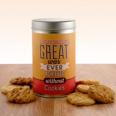 Hampers and Gifts to the UK - Send the Gift In a Tin - Achieve It With Cookies