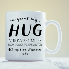 Hug Across the Miles Mug