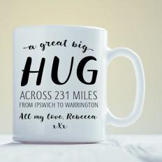 Hug Across the Miles Mug