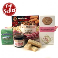 Afternoon Tea and Cake Gift Basket