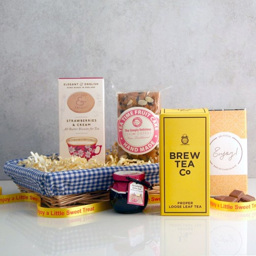 Hampers and Gifts to the UK - Send the Afternoon Tea and Cake Gift Basket