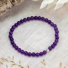 Hampers and Gifts to the UK - Send the Amethyst Bracelet