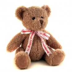 Hampers and Gifts to the UK - Send the Happy Anniversary Teddy Bear