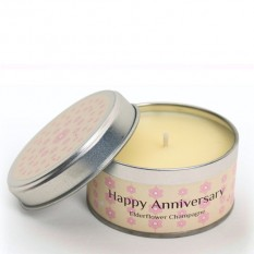 Hampers and Gifts to the UK - Send the Occasion Candle - Happy Anniversary