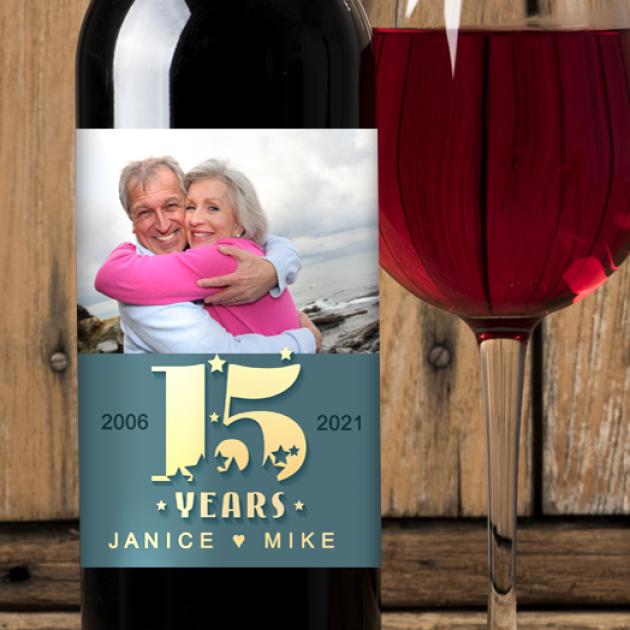 Hampers and Gifts to the UK - Send the Anniversary Wine A Celebration of Years