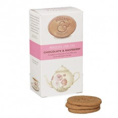Hampers and Gifts to the UK - Send the Elegant English Biscuits - Choc & Raspberry
