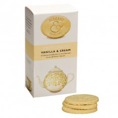 Hampers and Gifts to the UK - Send the Elegant English Biscuits - Vanilla & Cream