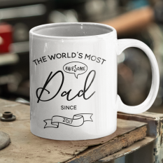 Hampers and Gifts to the UK - Send the World's Most Awesome Dad Mug