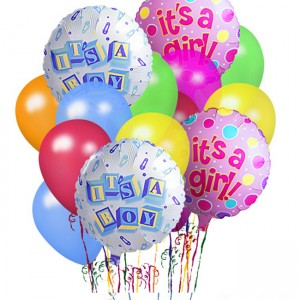 Hampers and Gifts to the UK - Send the Baby Balloons