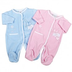Hampers and Gifts to the UK - Send the Newborn Baby BOY Sweet Dreams Sleepsuit