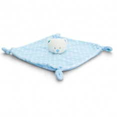 Hampers and Gifts to the UK - Send the Baby Blue Teddy Blanket