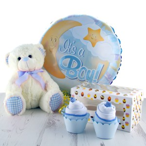 Hampers and Gifts to the UK - Send the Baby Boy Gifts