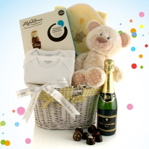 Hampers and Gifts to the UK - Send the Baby Gift Baskets