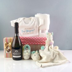 Hampers and Gifts to the UK - Send the Li'l Sparkle Unicorn Baby Hamper