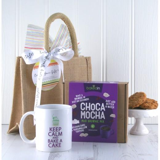 Hampers and Gifts to the UK - Send the Choca Mocha Mug Gift Set