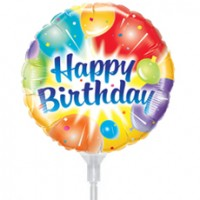 "Birthday Balloon 9"" +£2.99"