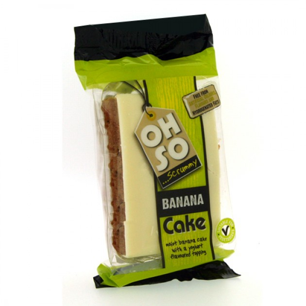Hampers and Gifts to the UK - Send the Oh So Scrummy Banana Cake