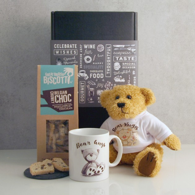Hampers and Gifts to the UK - Send the Bear Hugs Gift Box