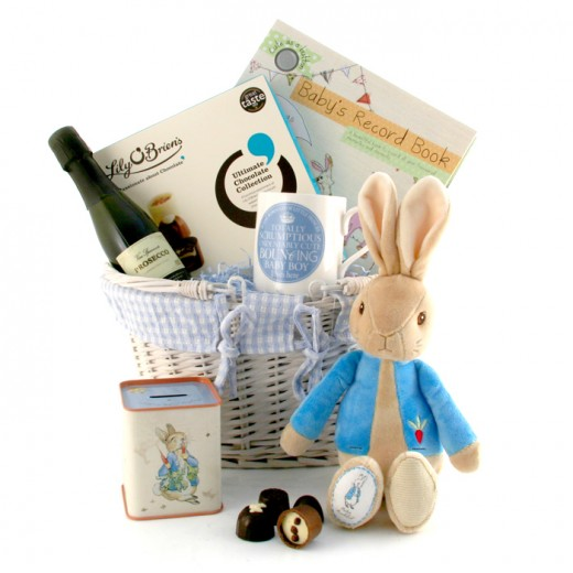 Hampers and Gifts to the UK - Send the Beatrix Potter Peter Rabbit Gift Basket